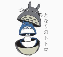 ghibli tower mask One Piece - Short Sleeve