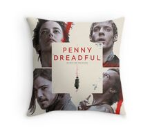 Penny Dreadful The Wicked Characters Throw Pillow