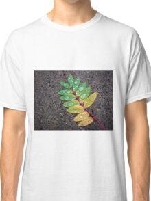 Raindrop Leaf Classic T-Shirt