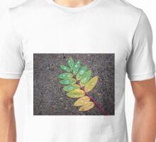 Raindrop Leaf Unisex T-Shirt