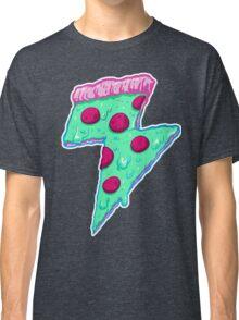 Thunder Neon Pizza Classic T-Shirt
