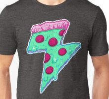 Thunder Neon Pizza Unisex T-Shirt
