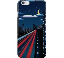 Night City Road 3 iPhone Case/Skin