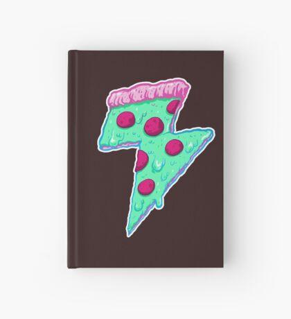 Thunder Neon Pizza Hardcover Journal