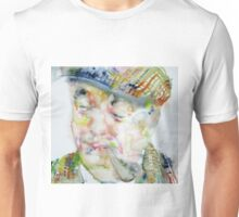 PABLO NERUDA - watercolor portrait.6 Unisex T-Shirt