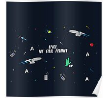 star trek enterprise patterns  Poster