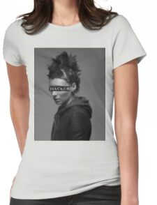 Lisbeth Salander is a... Womens Fitted T-Shirt