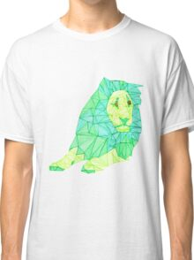 Green Lined Lion Classic T-Shirt