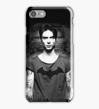 Andy Biersack Contrast iPhone Case/Skin