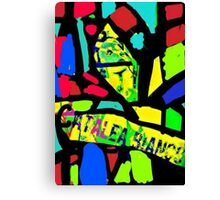 Stain Glass window Canvas Print