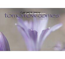 Tomorrow Comes © Vicki Ferrari Photographic Print