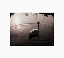 A beautiful Swan gliding through the water Unisex T-Shirt