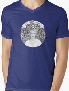 Gillian Anderson Mens V-Neck T-Shirt