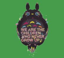 totoro we are the  children Kids Tee
