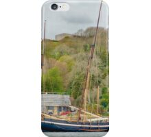 Ship At Rest In Cornwall iPhone Case/Skin