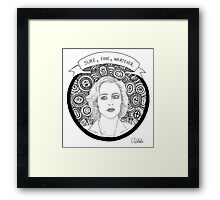 Dana Scully Framed Print