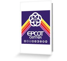 EPCOT Center 1982 Greeting Card