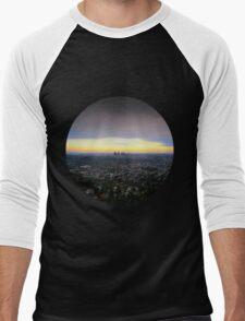 Los Angeles, California Men's Baseball ¾ T-Shirt
