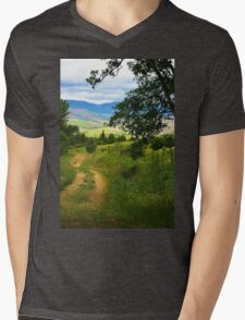 Country Road Mens V-Neck T-Shirt