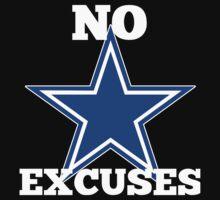 Dallas Cowboys No Excuses Kids Tee