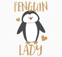 Penguin Lady Kids Tee