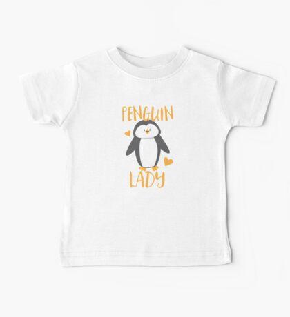Penguin Lady Baby Tee