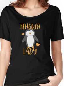 Penguin Lady Women's Relaxed Fit T-Shirt