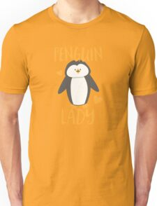 Penguin Lady Unisex T-Shirt