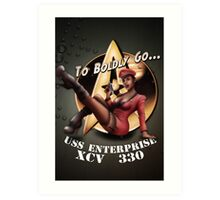 Star Trek Pin-Up Art Print