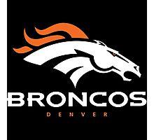 Denver Broncos Super Bowl Photographic Print