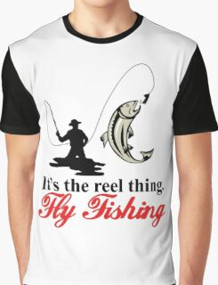 Fly Fishing Graphic T-Shirt