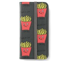 french cries iPhone Wallet/Case/Skin