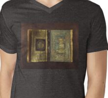 Page Format No.1 Transitional Series Mens V-Neck T-Shirt