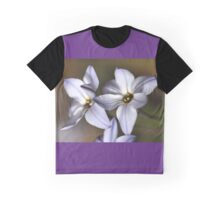Star White with shades Graphic T-Shirt