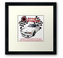 R32 Skyline GTR NISMO Framed Print