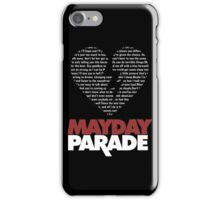 Mayday Parade Heart iPhone Case/Skin