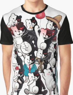 Monokuma portrait of wisdom Graphic T-Shirt