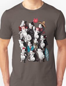 Monokuma portrait of wisdom Unisex T-Shirt