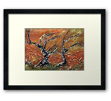 Winter is coming Framed Print