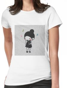 EDR 086 Play The Music Womens Fitted T-Shirt