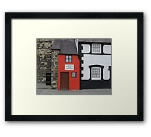 Smallest House in Great Britain Framed Print