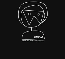 Wandaa: Women & Animation Australia - outline Women's Fitted Scoop T-Shirt