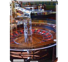 Roulette Table in Casino iPad Case/Skin