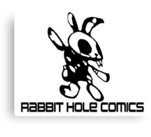 Rabbit Hole Comics  Canvas Print