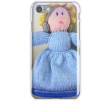 Hand Made knitted Doll  iPhone Case/Skin