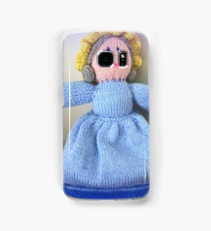 Hand Made knitted Doll  Samsung Galaxy Case/Skin