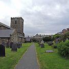 A Walk by St Mary's Church, Conwy by CreativeEm