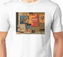 French Vintage Poster 1880 Restored Unisex T-Shirt