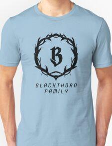 Shadowhunters: Blackthorn Family (Black) Unisex T-Shirt