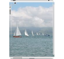 Waves, Lines & Triangles iPad Case/Skin